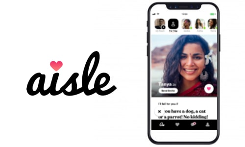 Aisle(Apps Like Tinder for India)
